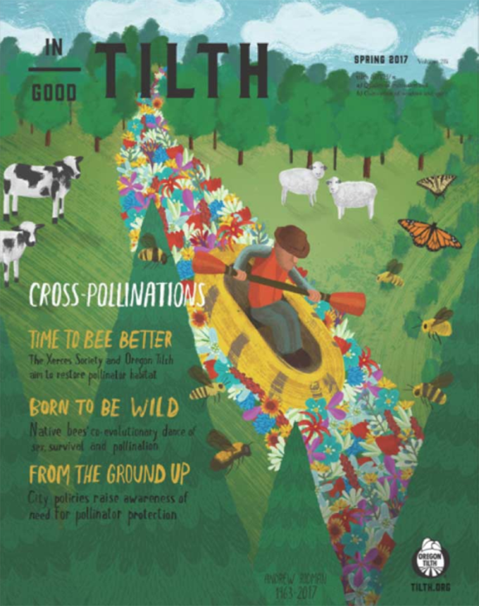 Spring 2017: Cross-Pollinations issue cover