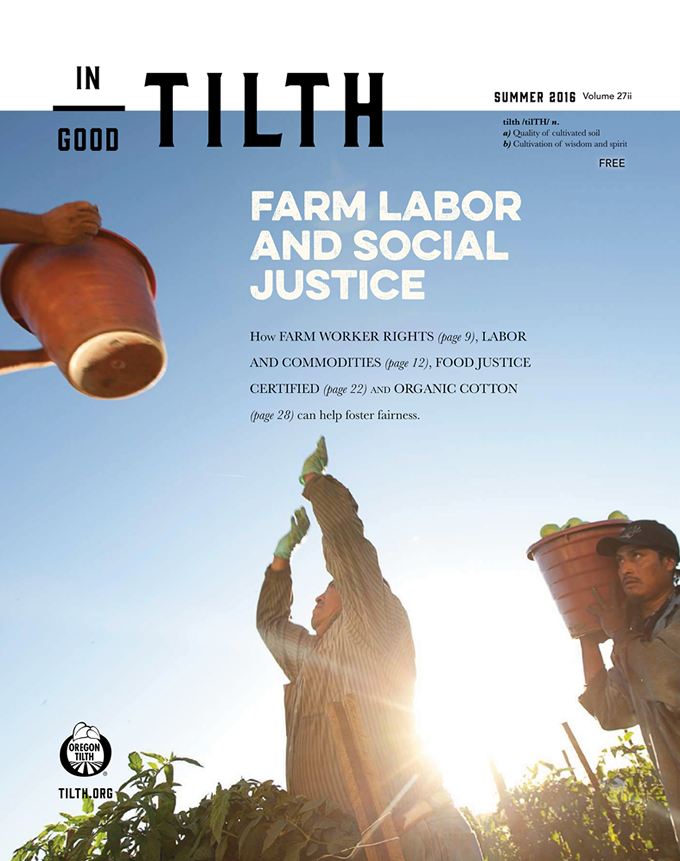Summer 2016: Farm Labor and Social Justice issue cover
