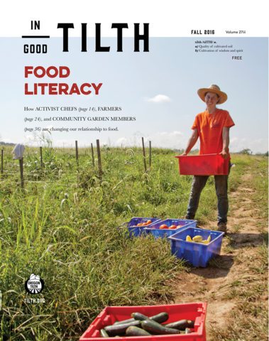 Fall 2016: Food Literacy issue cover