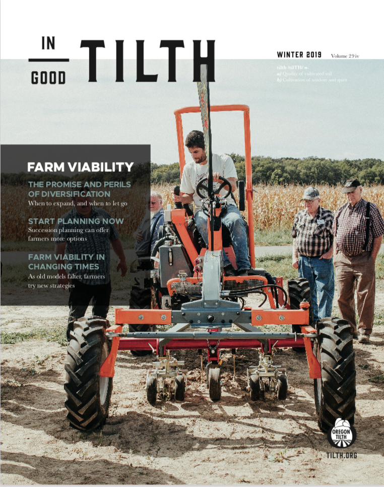Winter 2019: Farm Viability issue cover