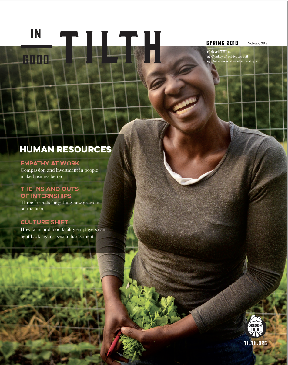 Spring 2019: Human Resources issue cover