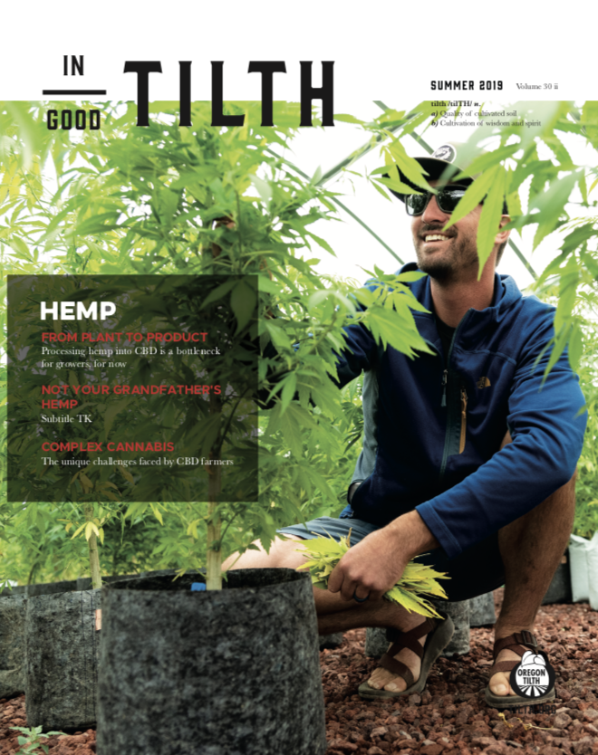 Summer 2019: Hemp issue cover