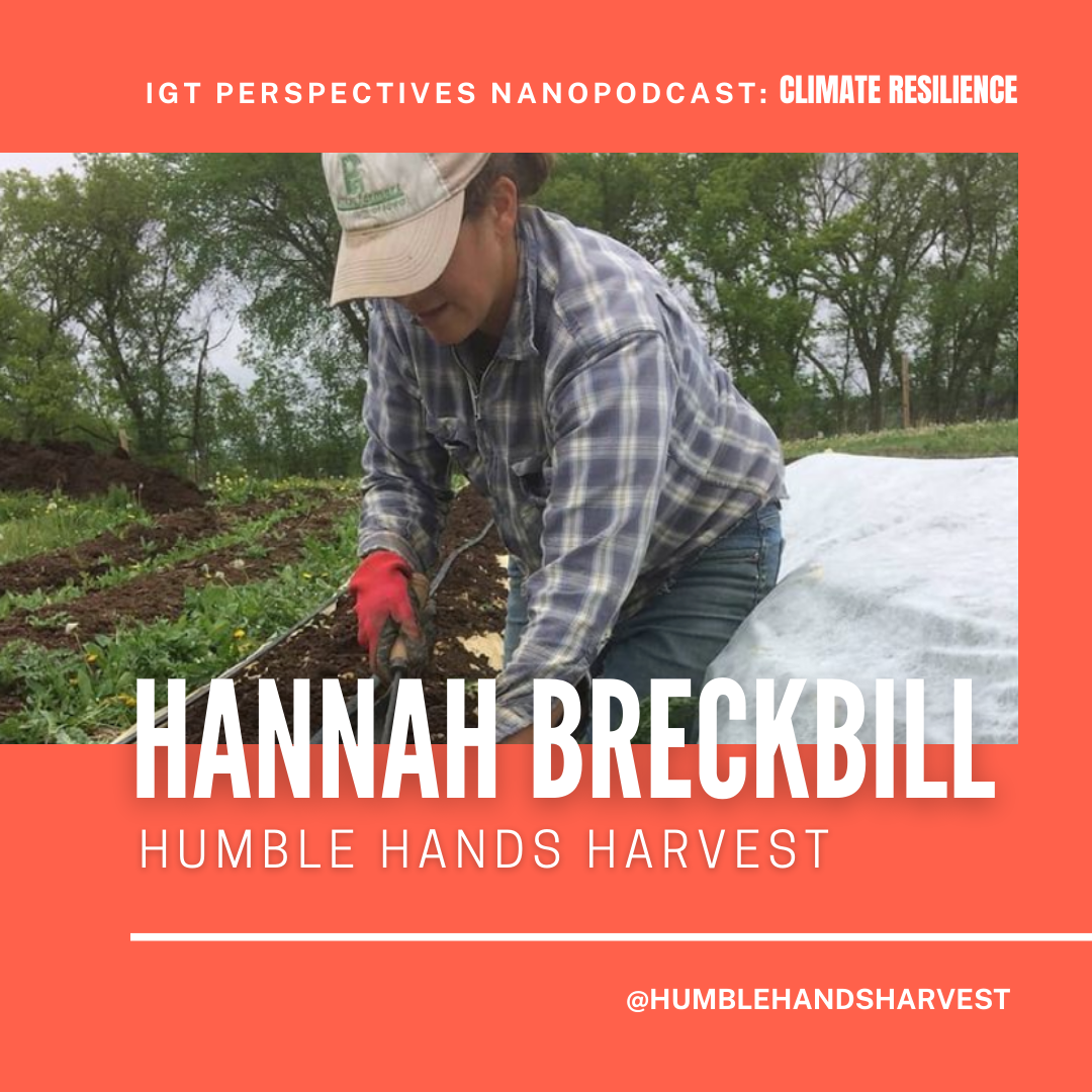 Hannah on Climate Reslience