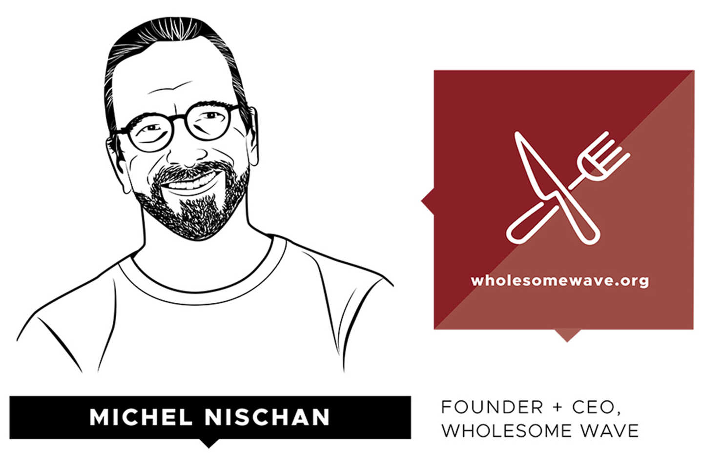 Michel Nischan, fundador y Director Ejecutivo de Wholesome Wave (www.wholesomewave.org)